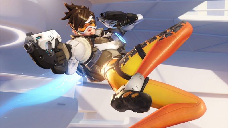 Tracer, HD, 4k, Overwatch (horizontal)
