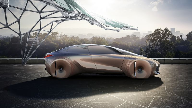 BMW Vision Next 100, future cars, luxury cars