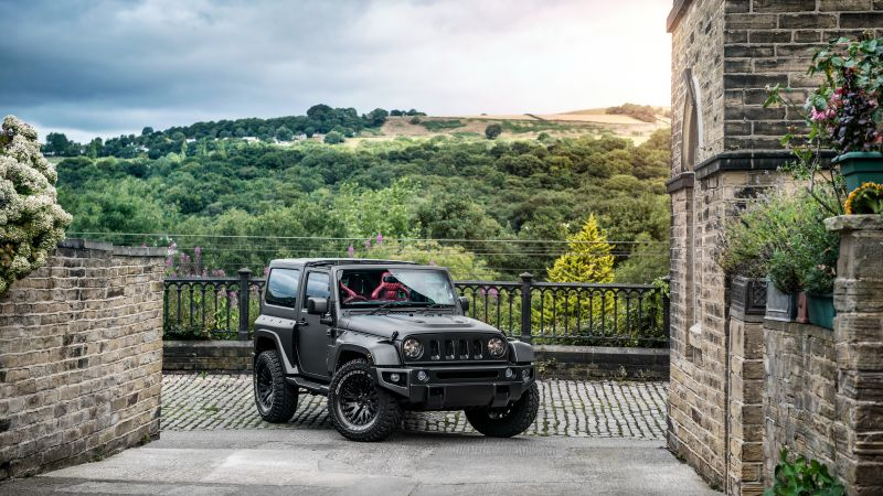 Project Kahn Jeep Wrangler, Black Hawk Edition, Geneva Auto Show 2016, SUV