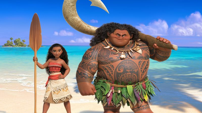 Moana, Maui, best animation movies of 2016 (horizontal)