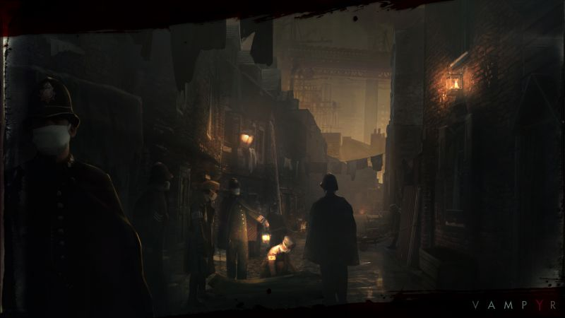 Vampyr, darkness, Best Games, sci-fi, PS4, PC, Xbox One