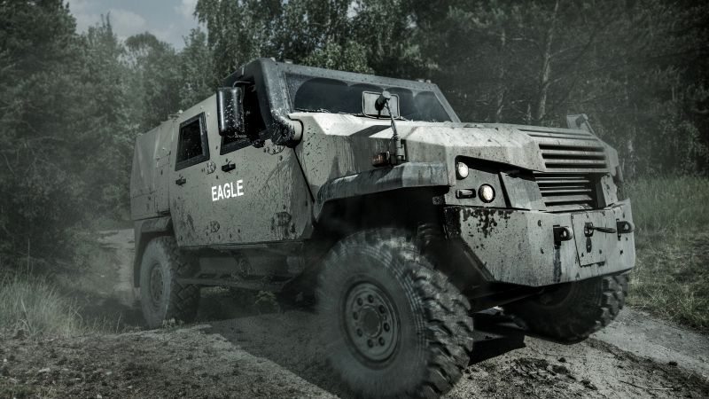 MOWAG Eagle, wheeled armored vehicle, Swiss Army