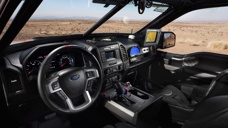 Ford F-150 Raptor, Race Truck, interior (horizontal)