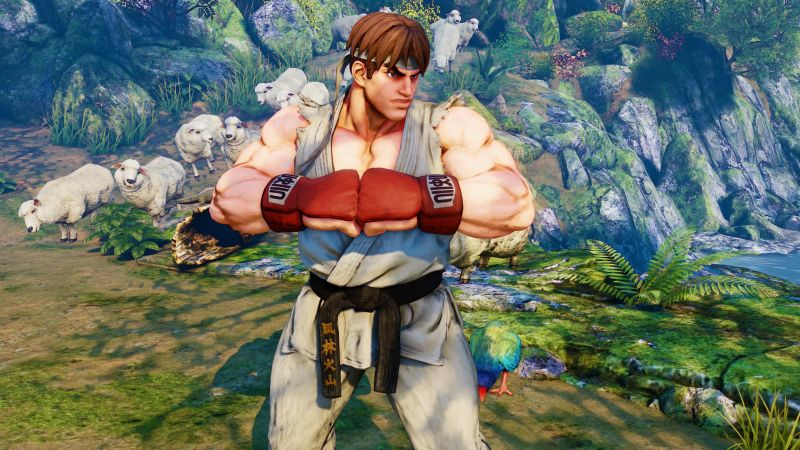 Street Fighter 5, RYU, Best Games, fantasy, PC, PS4 (horizontal)