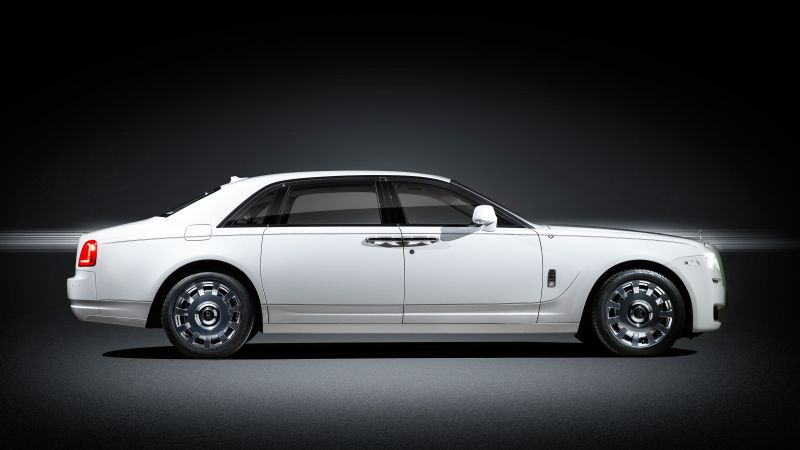 "Rolls-Royce Ghost ""Eternal Love"", luxury cars, white (horizontal)"