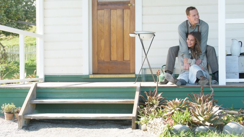 The Light Between Oceans, Michael Fassbender, Alicia Vikander, best movies of 2016 (horizontal)
