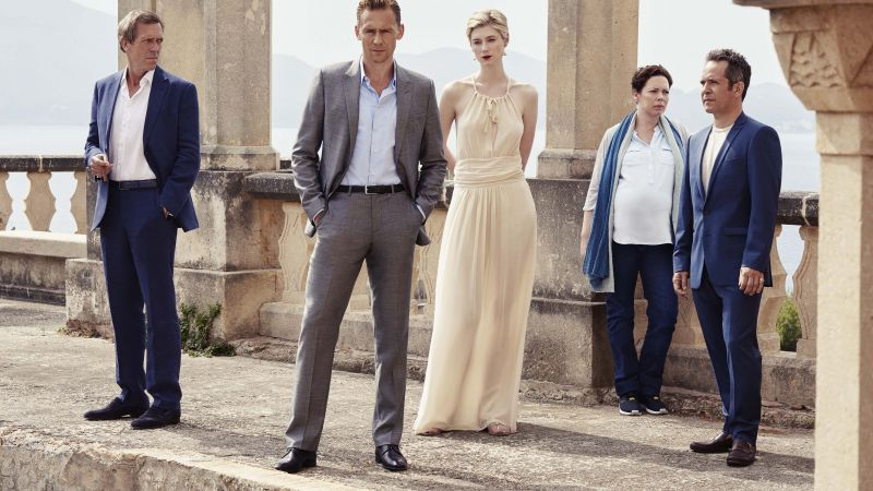 The Night Manager, Tom Hiddleston, Hugh Laurie, Best TV Series of 2016 (horizontal)