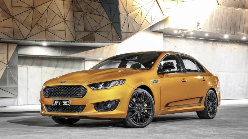 Ford Falcon XR8, limited edition, Sprint, gold