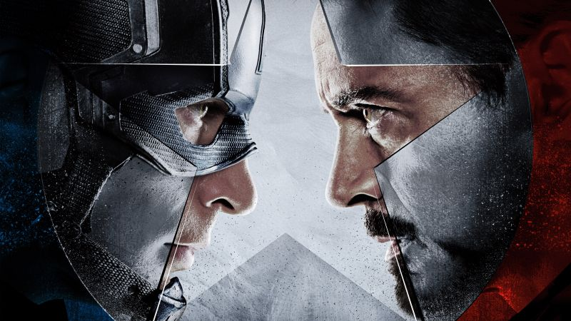 Captain America 3: civil war, Iron Man, Marvel, best movies of 2016 (horizontal)
