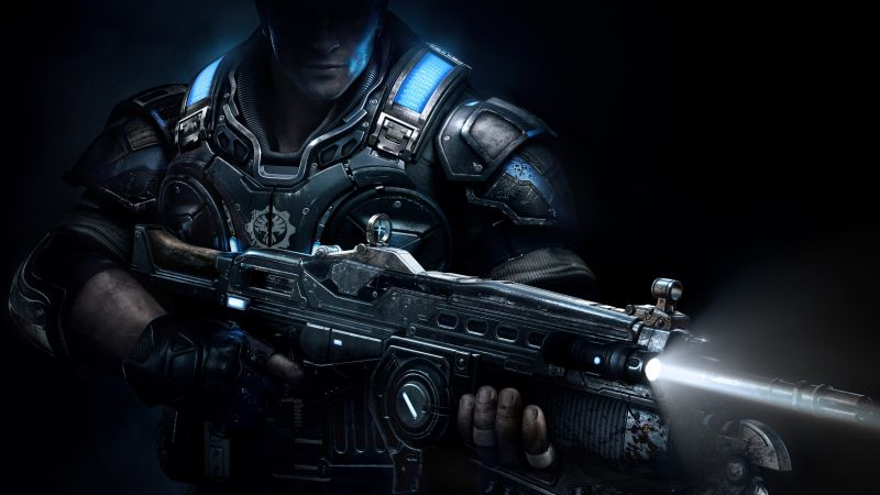 Gears of War: Ultimate Edition, Best Games, game, shooter, sci-fi, PC, Xbox One (horizontal)
