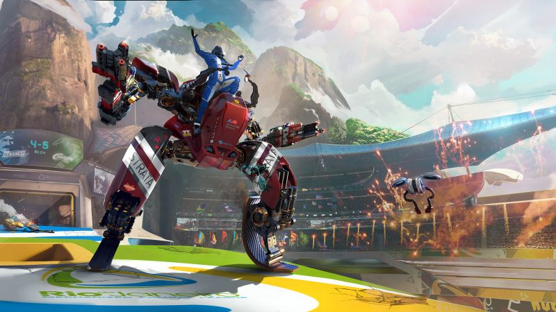 RIGS: Mechanized Combat League, VR, PS VR, PS4 (horizontal)