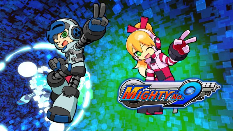 Mighty No. 9, platform, Mega Man, PC, PS4, Xbox One