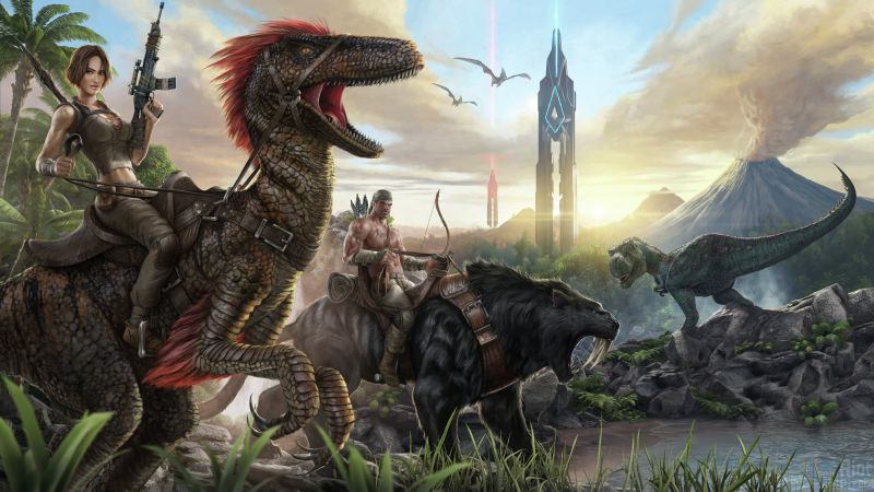 ARK: Survival Evolved, GDC Awards 2016, PC, PS 4, Xbox One (horizontal)
