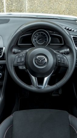 Mazda3 Sport Black Special Edition, sport car, interior (vertical)