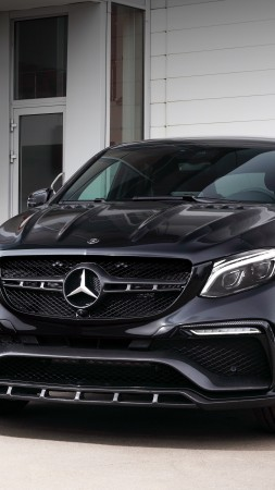 Mercedes-Benz inferno GLE, coupe, black (vertical)