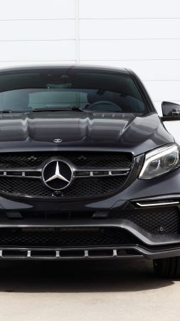 Mercedes-Benz inferno GLE, coupe, black