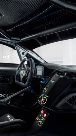Acura NSX GT 3, NYIAS 2016, interior (vertical)