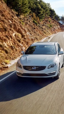 Volvo V60 Edition, white