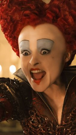 Alice Through the Looking Glass, Helena Bonham Carter, best movies of 2016 (vertical)