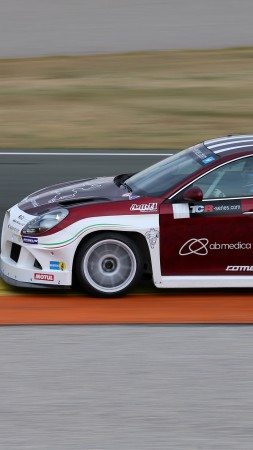 Romeo Ferraris, Alfa Romeo Giulietta TCR, sport cars, TCR International Series, test (vertical)