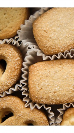 biscuits, sugar, recipe, cooking, shape (vertical)