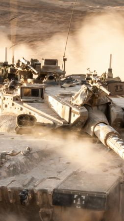 Merkava Mark IV, tank, Israel Army, Israel Defense Forces, desert