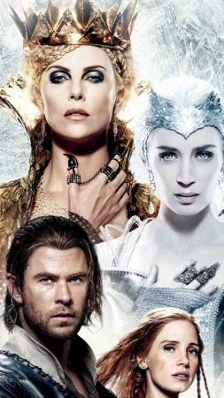 The Huntsman Winter's War, Charlize Theron, Emily Blunt, Best Movies (vertical)