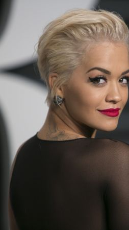 Rita Ora, Rita Sahatciu Ora, Actress, Artists, television star, sofa, dress, jewel, room, interior (vertical)