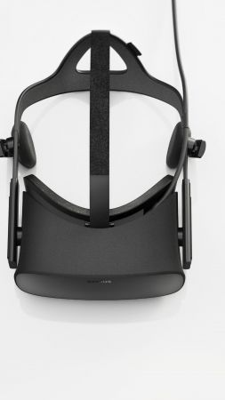 Oculus Rift, Oculus Touch, Virtual Reality, VR headset (vertical)