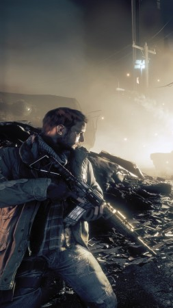 Homefront: The Revolution, shooter, fps, soldier, base, grey, screenshot, art, PC, PS4, XBox one (vertical)