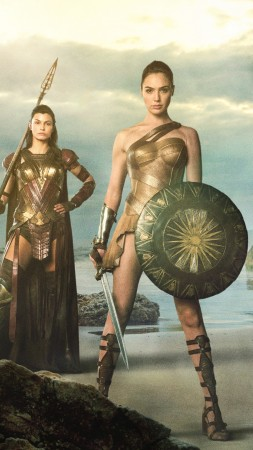 Wonder Woman, Gal Gadot, superhero film, DC Comics, Best Movies of 2016 (vertical)