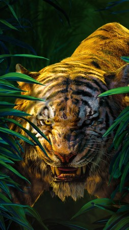 The Jungle Book, Shere Khan, Best movies of 2016 (vertical)