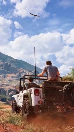 Uncharted 4: A Thief's End, Nathan Drake, Best Games of 2016 (vertical)