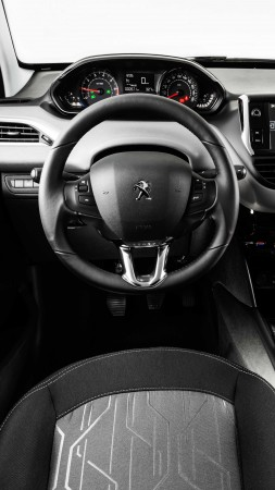 Peugeot 208, hatchback, interior
