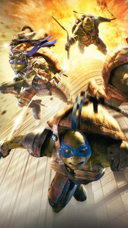 Teenage Mutant Ninja Turtles: Half Shell, Best Movies of 2016, Turtles (vertical)