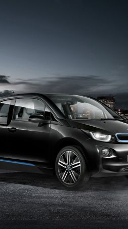 "BMW i3 ""Carbonight"", electric cars, city cars, black"