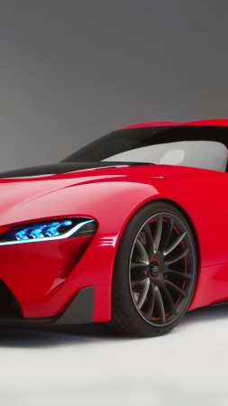 Toyota FT-1, hypercar, supercar (vertical)