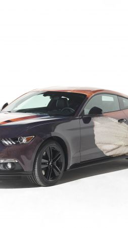 Ford Mustang, Thomas Lelu, art car (vertical)