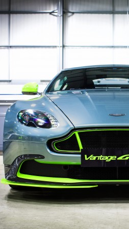 Aston Martin Vantage GT8, supercar, coupe (vertical)