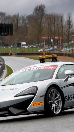McLaren 570S, supercar safety car (vertical)