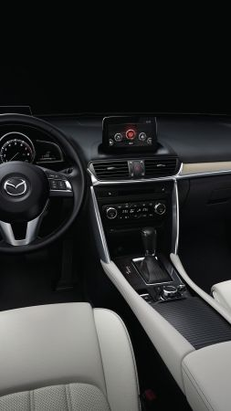 Mazda CX-4, Beijing Motor Show 2016, Auto China 2016, interior (vertical)