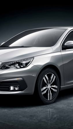 Peugeot 308 Sedan, Beijing Motor Show 2016, Auto China 2016, sedan, grey (vertical)