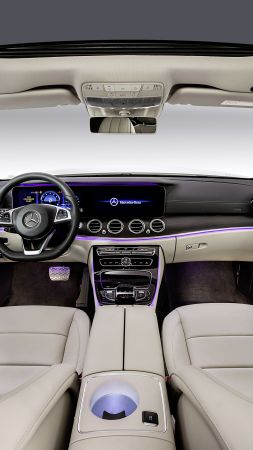 Mercedes-Benz E 320 L Exclusive Line, Beijing Motor Show 2016, Auto China 2016, 4MATIC, interior (vertical)