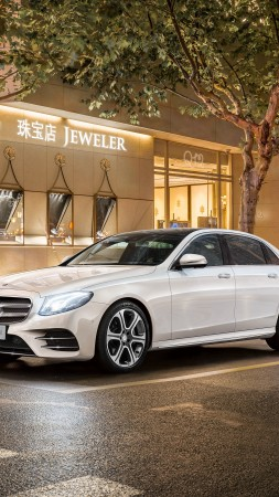 Mercedes-Benz E 320 L Exclusive Line, Beijing Motor Show 2016, Auto China 2016, 4MATIC, e class, sedan (vertical)