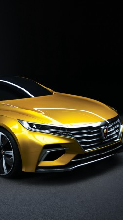 Roewe Vision-R, sedan, yellow (vertical)
