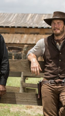 The Magnificent Seven, Denzel Washington, Chris Pratt