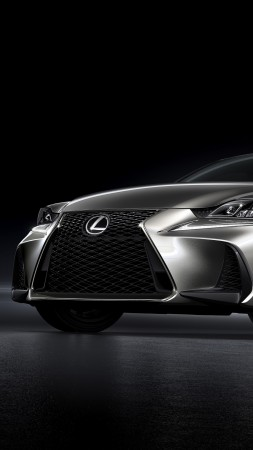 Lexus IS, Beijing Motor Show 2016, Auto China 2016, silver (vertical)
