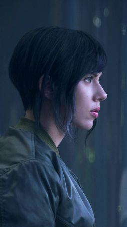 Ghost in the Shell, Scarlett Johansson (vertical)