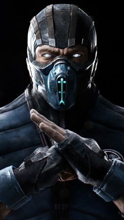 MORTAL KOMBAT X, SUB ZERO, fighting, PS4, Xbox One (vertical)