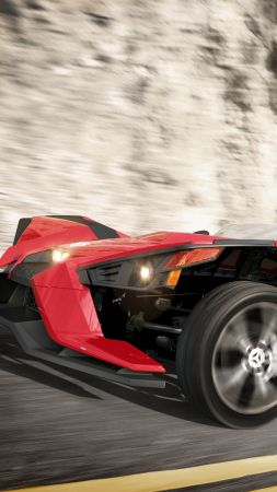 Polaris Slingshot, limited edition, black (vertical)